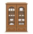 cupboard 02 vector image vector image