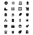 Ecology Icons 1 vector image vector image