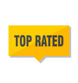top rated price tag vector image vector image