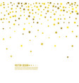 abstract background with starry vector image vector image