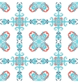 Abstract seamless ornamental tile pattern vector image vector image