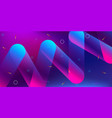 color background design fluid gradient shapes vector image