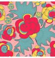 color floral pattern vector image