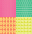 Colorful Square Pattern vector image vector image