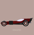 dragster car vector image