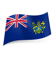 Flag of Pitcairn Islands vector image vector image