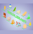 intolerant concept banner isometric style vector image