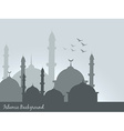 islamic background vector image vector image