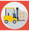 Lift-truck vector image
