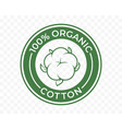 organic cotton icon 100 natural bio and eco