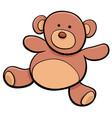 teddy bear cartoon toy clip art vector image vector image