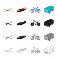 transport transportation machinery and other web vector image