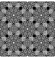 Dark Ornamental Seamless Line Pattern vector image