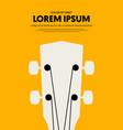 music festival poster design template modern vector image