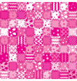patchwork background vector image vector image