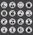 set of 16 editable cookware icons includes vector image
