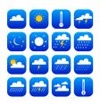 Symbol of weather and climate vector image