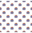 train wagon pattern seamless vector image vector image