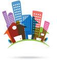 Abstract real estate Icon vector image