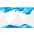 Background Triangle Bleu vector image vector image