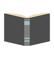 Book isolated flat style vector image vector image
