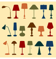 Lamps vector image vector image