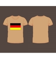 national team of Germany vector image vector image