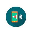 smartphone icon sign symbol vector image