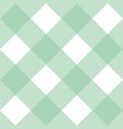 tile pattern or mint green and white background vector image