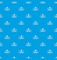 winter pattern seamless blue vector image vector image