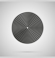 abstract metal texture circle stripes vector image