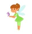 Fairies cartoon character vector image vector image