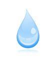 water drop2 vector image