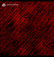 abstract technology red light lazer lines vector image
