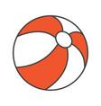 beach ball color icon