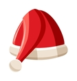 Christmas hat icon cartoon style vector image vector image