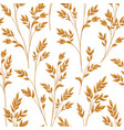 floral pattern with leaves ornamental seamless vector image vector image