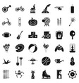 kid bicycle icons set simple style vector image vector image