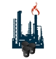 Oil Refinery vector image vector image