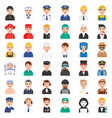 profession and job related icon set 1 male version