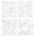 rosa pattern vector image vector image