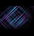 tech futuristic blue purple stripes abstract vector image