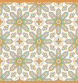 arabic style tile seamless pattern moroccan vector image vector image