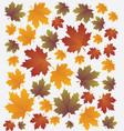 autumn banner set vector image vector image