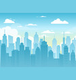 city urban landscape vector image
