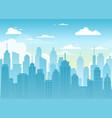 city urban landscape vector image vector image