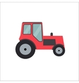 Ftat Tractor vector image