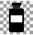 image of a vaccine vial vector image vector image