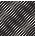 Seamless Black And White Diagonal Rectangle vector image vector image
