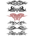 tribal tattoo art sketch vector image vector image